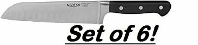 Winco Santoku Knife, 7-Inch, Set of 6
