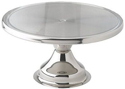 Winco CKS-13 Stainless Steel Round Cake Stand, 13-Inch (Pack of 2) by Winco