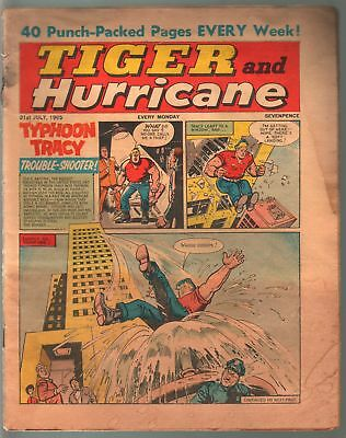 Tiger and Hurricane 7/31/1965-Johnny Cougar-Val Venture-British-G