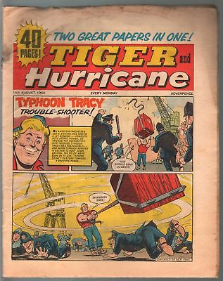 Tiger and Hurricane 8/14/1965-Johnny Cougar-Val Venture-British-G