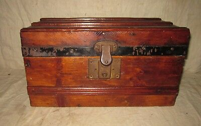 Early Vintage Doll Trunk Refinished