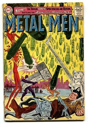 METAL MEN #1-comic book-SILVER AGE-DC-FIRST ISSUE-