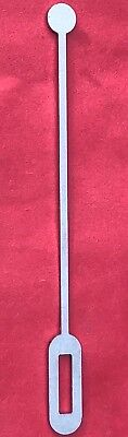 New Antique Longcase Grandfather Clock Crutch Blank 8 Day & 30 Hour Free Uk P&P