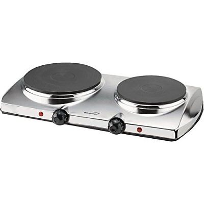 BRENTWOOD - BRENTWOOD TS-372 1,440-Watt Electric Double Hot Plate