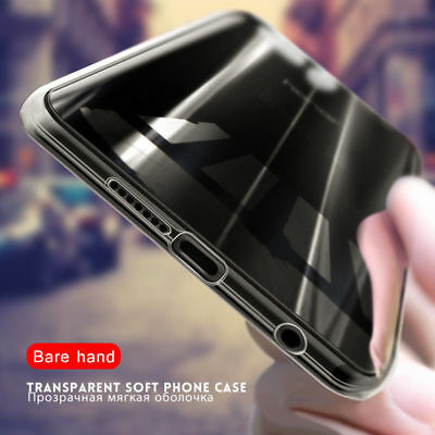 For Huawei Mate10 Pro P10 Plus P10  P9 P8 Lite Transparent Clear Back Case Cover