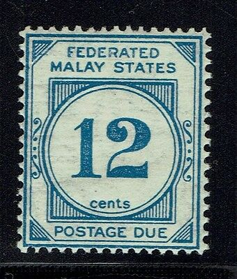 Federated Malay States SG# D6w, Mint Never Hinged -  Lot 013116
