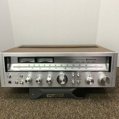 Sanyo Jcx-2300K Vintage Stereo Receiver - Fully Serviced - Great Condition