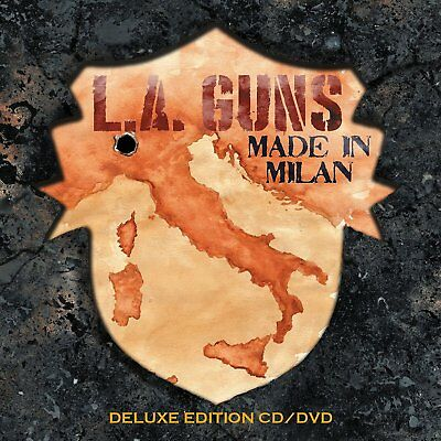L.a.guns - Made In Milan   Blu-Ray New+