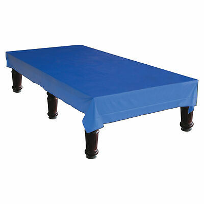 BLUE VINYL COVER 9 x 4-6  FOOT BILLIARD POOL TABLE S-T-R-E-T-C-H FIT CORNERS