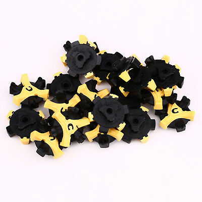 56Pcs Golf Shoe Spikes Replacement Champ Cleat Fast Twist Q-Lok For Foot Joy