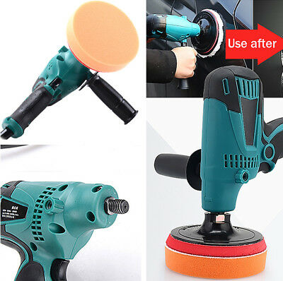 6Speed AC 220V 600W Car furniture Paint Care waxing polisher Multi-functional