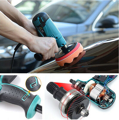 Multi-functional Car Power Polisher Paint Care waxing machine+150mm wool wheel