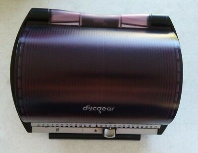 DiscGear Selector 50 Disc Storage Organizer Holds DVDs CDs Blu-Rays Free Ship