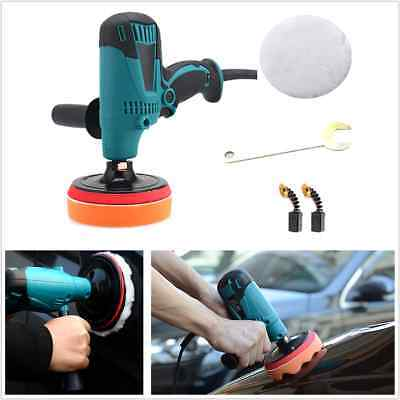 600W 6 Speed 150mm Car Polisher Buffer Waxer Sander Car Paint Care Waxing Tool