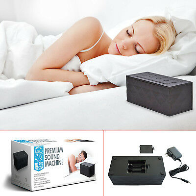 Sleep Sound Machine White Noise Therapy 10 Relax Sounds Night Sleeping Aid Timer