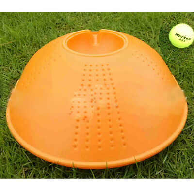 Outdoor Tennis Ball Singles Training Practice Drills Back Base Trainer HU