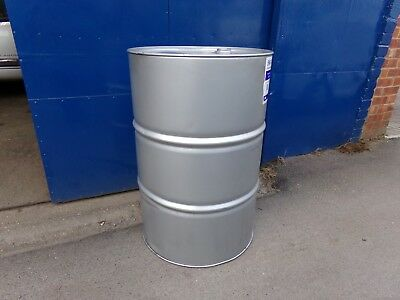 Clean And Strong 45 Gallon ( 208 Litres ) Metal Oil Drum.
