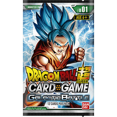 DRAGONBALL SUPER CARD GAME * Galactic Battle Booster