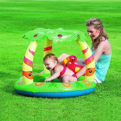 BESTWAY BABY Planschbecken Dach Swimmingpool Kinder Pool ...