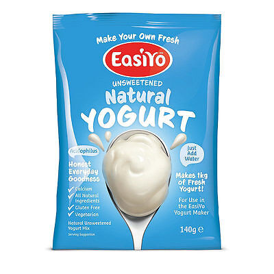 EasiYo Yogurt Single Sachet- Makes 1L - Natural