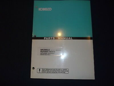 KOBELCO SK480LC DYNAMIC Acera Excavator Parts Manual Book