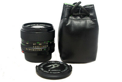 Canon 50mm f/ 1.4 FD Lens Made In Japan