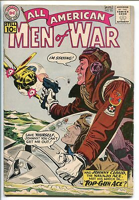 ALL-AMERICAN MEN OF WAR #86-1961-DC-SILVER AGE-JOHNNY CLOUD-WWII-fn/vf