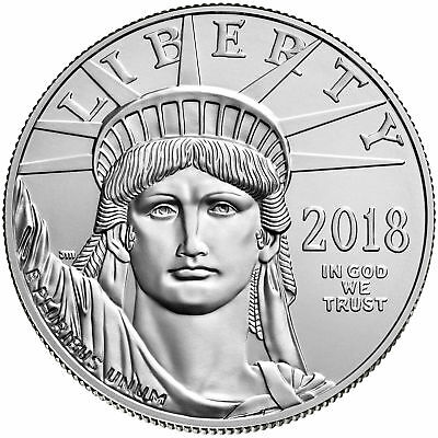 2018 - $100 1oz American Platinum Eagle BU