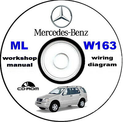 Workshop Manual,Mercedes-Benz ML W163,manuale officina Mercedes Classe M