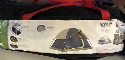Coleman Sundome 2 Person Outdoor Hiking C&ing Tent w/ Rainfly Awning | 7u0027 x & COLEMAN Sundome 2 Person Outdoor Hiking Camping Tent w/ Rainfly ...