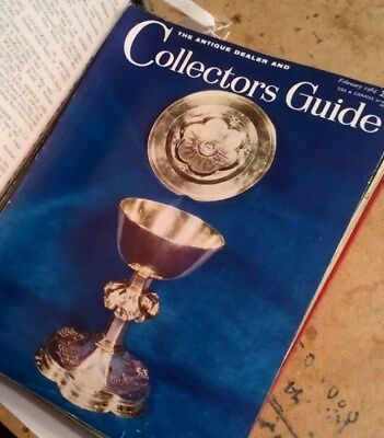 THE ANTIQUE DEALER AND COLLECTORS GUIDE ALL 12 ISSUES FROM 1964 t18
