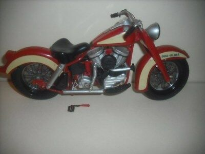 Vintage Harley Davidson Motorcycle Model From 1958, 8 inches long