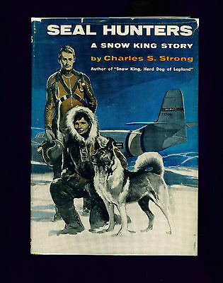 RARE Dog Book 1958 Norwegian Elkhound Story SEAL HUNTERS First Edition