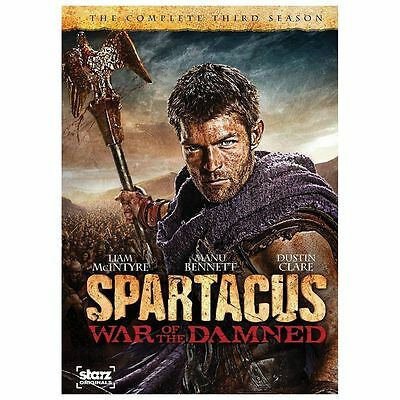 Spartacus: War of the Damned: Season 3 (DVD) New, Free shipping