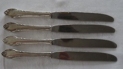 1847 ROGERS BROS IS Silver Plate REMEMBRANCE lot 4 Knife