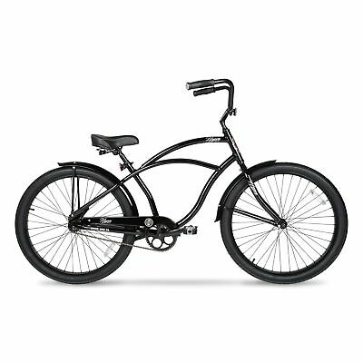 BEACH CRUISER BIKE Men Comfort Aluminum Frame Balloon Tire Bicycle ...