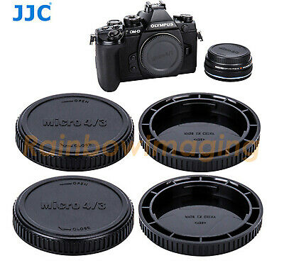 5 x Lens Rear Cap and Body Cap for MFT Micro 4/3 M43 Panasonic GF6 GX1 GX2 GX7