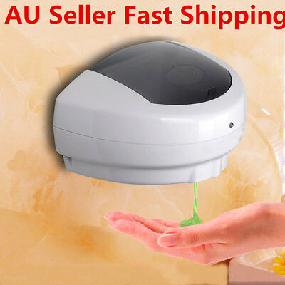 500ml Automatic Hand Sanitizer Dispenser Liquid Sensor Touchless Hands Free Soap