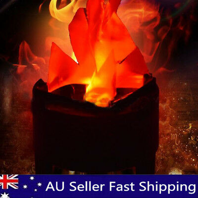 2018 Decorations LED Artificial Flame Lamp Fake Fire Effect Light Party Bar
