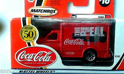 Sale....matchbox Coca Cola Ford Truck (Metal) In Box Edition 2000