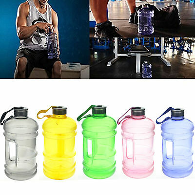 2.2L Big Free Sport Gym Training Drink Botella de agua Tapa Caldera