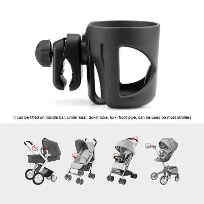 Drink Cup Bottle Holder for Bicycle Baby Stroller Buggy Pushchair Pram Plastic