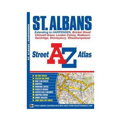 St Albans Street Atlas by Geographers' A-z Map Company
