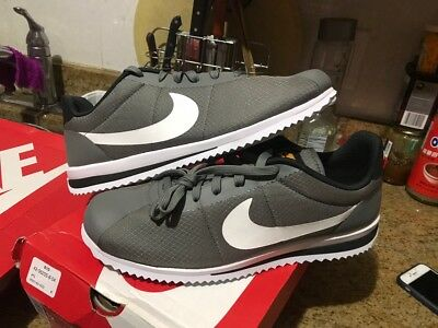 Nike Cortez Ultra Tumbled Grey White Black 833142 003 Men