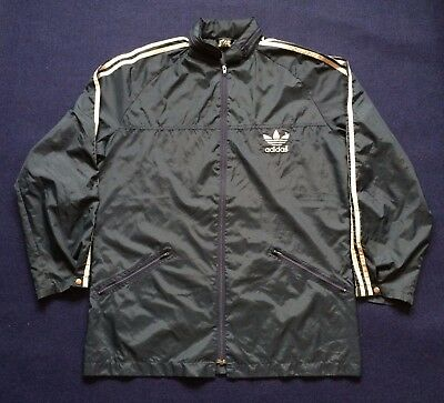 Vintage Adidas Sweater Hooded Hip Hop Rare 80s 90s