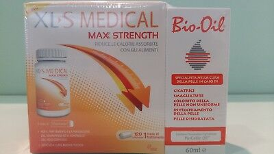 XLS medical max strength 120cpr+ Bio oil 60ml