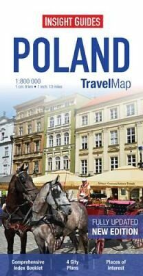 Insight Guides Travel Map Poland by APA Publications Limited 9781780054919