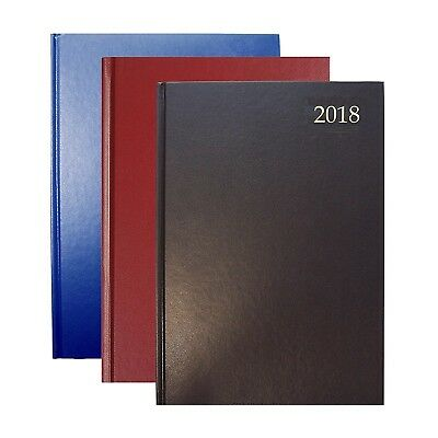 Collins A5 2018 Day a Page Diary/Page a Day/Day to page Hardback Office Diary