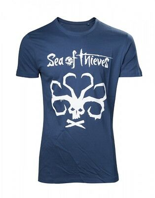 Sea of Thieves - Mermaids Fortune - T-Shirt | Blau | Original Merchandise