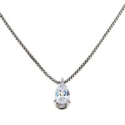 ABSOLUTE INTERLOCKING CIRCLE PENDANT WITH 16 CHAIN NECKLACE SILVER HSN necklace pendant watch Jewelry & Watches